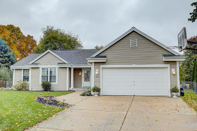 Waukesha WI Single Family Home Active Contingent With Offer: $289,900
