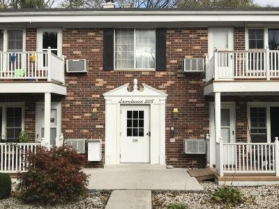 Ozaukee County Condo/Townhouse Active Contingent With Offer: 508 Laurel Lake Rd #4
