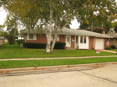 Racine County Single Family Home Active Contingent With Offer: 556 Rose Ann Dr