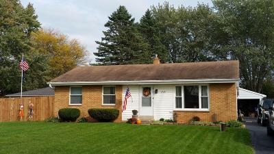 Racine County Single Family Home For Sale: 37345 Debby