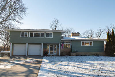 Plymouth Single Family Home Active Contingent With Offer: 644 Riverview Dr
