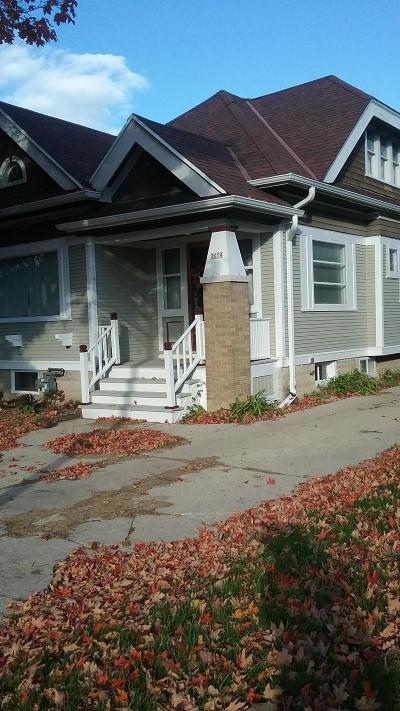 Milwaukee Single Family Home For Sale: 3054 N 56th Street