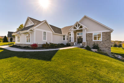 Waukesha County Single Family Home For Sale: W217n5483 Taylors Woods Dr