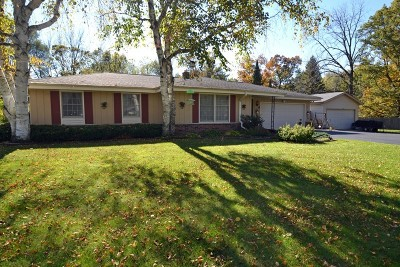 Waukesha County Single Family Home For Sale: N12w27475 Spring Hill Dr