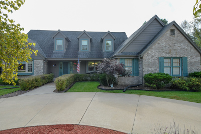Muskego Single Family Home Active Contingent With Offer: S69w12949 Woods Rd