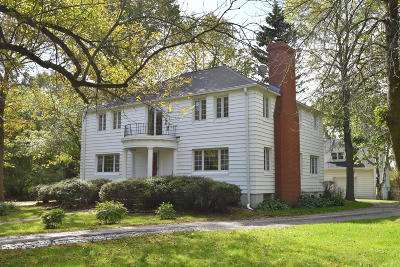 Mequon Single Family Home Active Contingent With Offer: 12501 N Lake Shore Dr #1