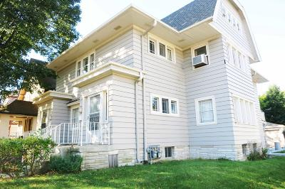 Milwaukee WI Two Family Home For Sale: $309,000