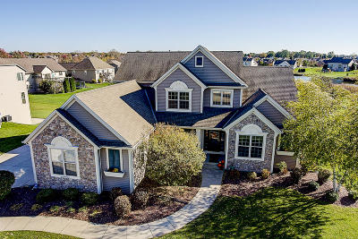 Germantown Single Family Home Active Contingent With Offer: N101w17561 Misty Morning Way