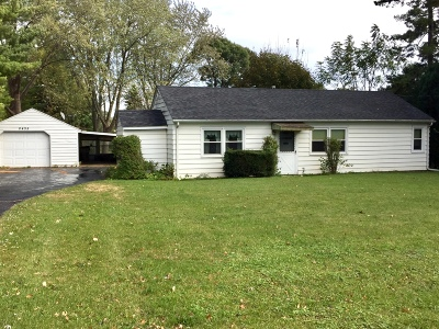 Pleasant Prairie WI Single Family Home For Sale: $154,900