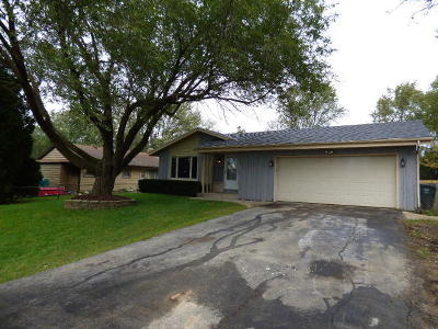 Racine County Single Family Home For Sale: 3414 6 Mile Rd