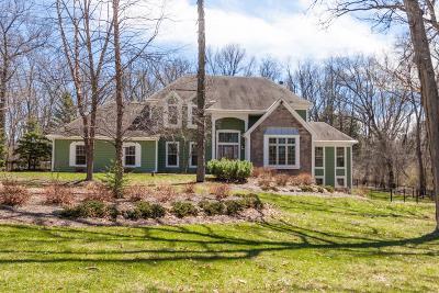 Delavan Single Family Home For Sale: W7005 Savannah Ln