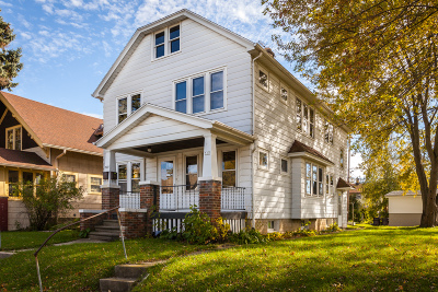 South Milwaukee Two Family Home Active Contingent With Offer: 517 Marquette Ave