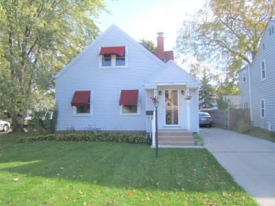West Allis Single Family Home For Sale: 2436 S 78th St