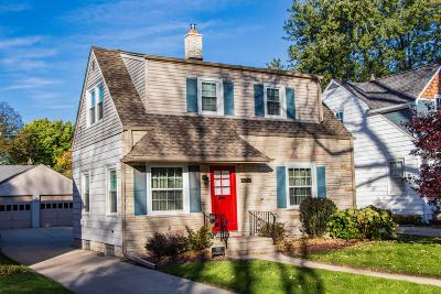 Whitefish Bay Single Family Home Active Contingent With Offer: 4733 N Hollywood Ave