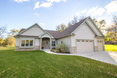 Menomonee Falls Single Family Home Active Contingent With Offer: N64w15225 Mill Rd