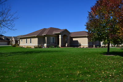 Pleasant Prairie WI Single Family Home For Sale: $579,000