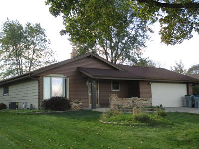 Single Family Home Active Contingent With Offer: 8183 N Pingree Ave