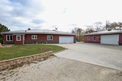 Campbellsport Single Family Home Active Contingent With Offer: 9564 County Road Bb