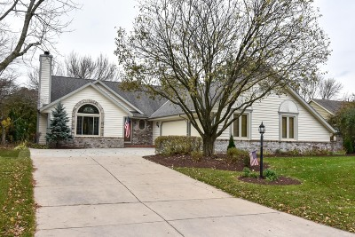 Menomonee Falls Single Family Home Active Contingent With Offer: N77w16331 Countryside Dr