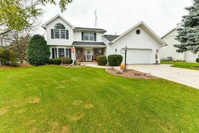 Pleasant Prairie Single Family Home Active Contingent With Offer: 8494 65th Ave