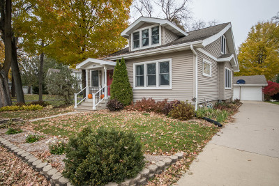 Oconomowoc Single Family Home Active Contingent With Offer: 1002 W Wisconsin Ave