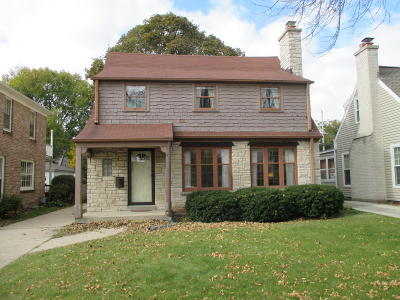 Whitefish Bay Single Family Home For Sale: 5237 N Kent Ave