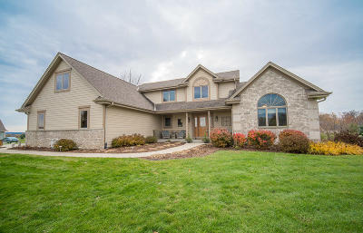 West Bend Single Family Home Active Contingent With Offer: 5829 Steeple Ln