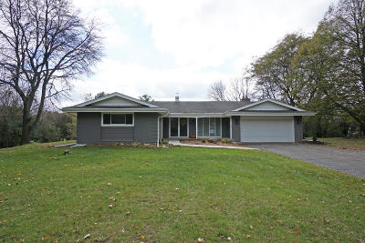 Waukesha Single Family Home Active Contingent With Offer: S31w30469 Sunset Dr
