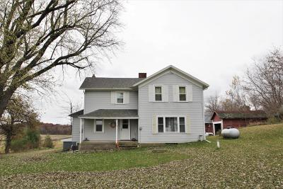 Waterloo Single Family Home Active Contingent With Offer: W7733 Island Church Rd