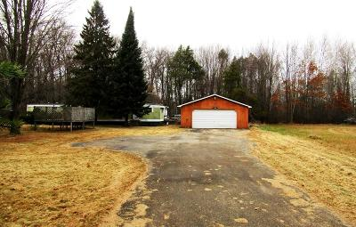 Peshtigo Single Family Home For Sale: W1712 County Rd B