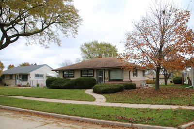 West Allis Single Family Home Active Contingent With Offer: 2880 S 93rd St