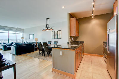 Milwaukee Condo/Townhouse Active Contingent With Offer: 1550 E Royall Pl #805