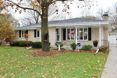 Racine Single Family Home Active Contingent With Offer: 4121 Coachlight Dr