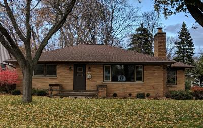 West Allis Single Family Home Active Contingent With Offer: 7500 W Jackson Dr