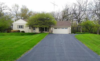 Waukesha Single Family Home Active Contingent With Offer: W284n814 Cherry Ln