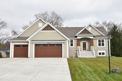 Waukesha County Single Family Home Active Contingent With Offer: 17320 W Burleigh Rd