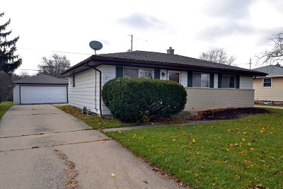 Milwaukee Single Family Home For Sale: 185 W Mangold Ave