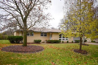 Milwaukee County Single Family Home For Sale: 8609 N Manor Ln