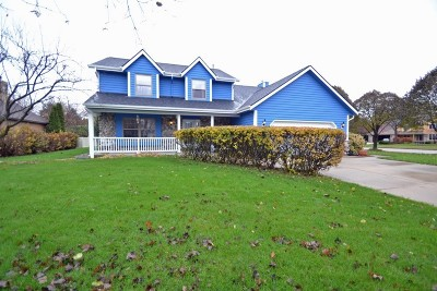 Hartland Single Family Home For Sale: 672 Briarcliff Ct