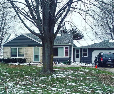 West Bend Single Family Home Active Contingent With Offer: 8029 County Road W