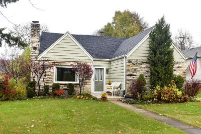 Wauwatosa Single Family Home Active Contingent With Offer: 11224 W Wisconsin Ave
