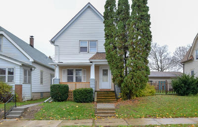 South Milwaukee Two Family Home For Sale: 1213 Michigan Ave
