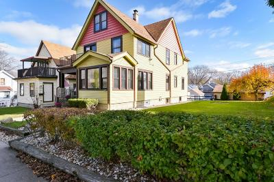 Milwaukee County Single Family Home Active Contingent With Offer: 3116 S New York Ave