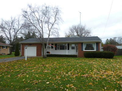 Fort Atkinson WI Single Family Home Active Contingent With Offer: $162,000