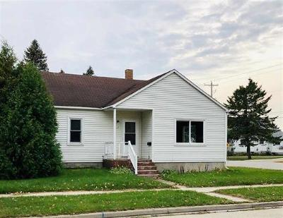 Menominee Single Family Home For Sale: 1717 23rd Avenue