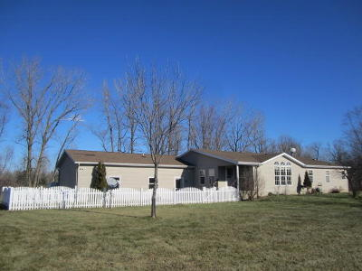 Peshtigo Single Family Home Active Contingent With Offer: W4559 County Road B