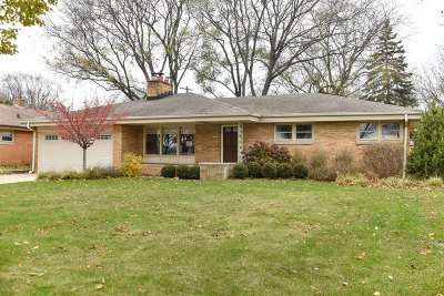 Wauwatosa Single Family Home Active Contingent With Offer: 2117 N 122nd St
