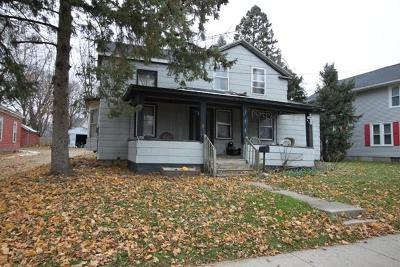 Whitewater Single Family Home For Sale: 262 S Janesville St
