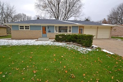 Single Family Home Active Contingent With Offer: 13005 W Cameron Ave