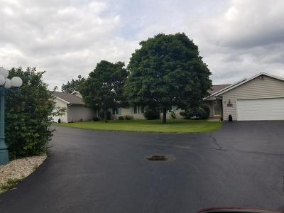 Racine County Two Family Home For Sale: 26422 Malchine Rd #26420